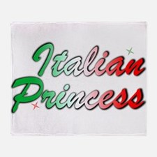 Italian Princess Throw Blanket