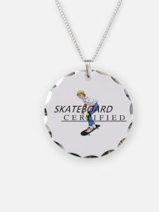 TOP Skateboard Certified Necklace