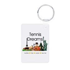 TOP Tennis Dreams Keychains