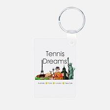 TOP Tennis Dreams Keychains