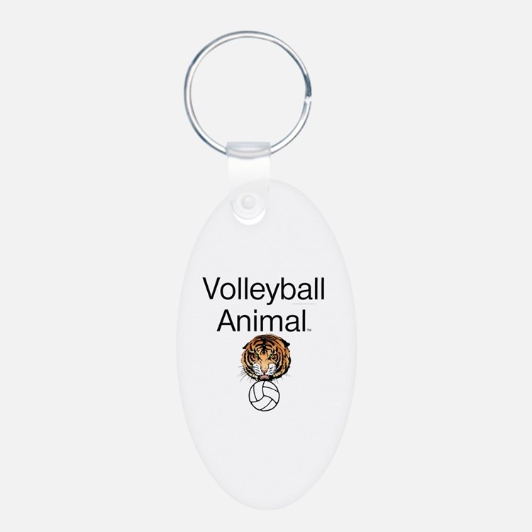 Volleyball Animal Keychains