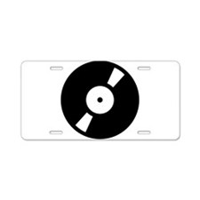 Retro Classic Vinyl Record Aluminum License Plate