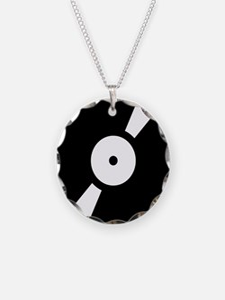 Retro Classic Vinyl Record Necklace