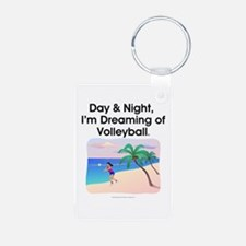 Dreaming of Volleyball Keychains