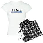 TOP Sail Away Women's Light Pajamas