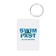 TOP Swim Slogan Keychains