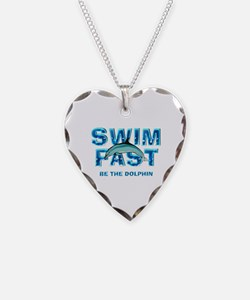 TOP Swim Slogan Necklace