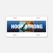 TOP Hoop Strong Aluminum License Plate