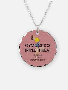 TOP Gymnastics Slogan Necklace