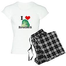 I Heart (Love) Broccoli Pajamas