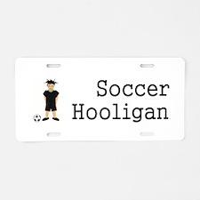 TOP Soccer Hooligan Aluminum License Plate