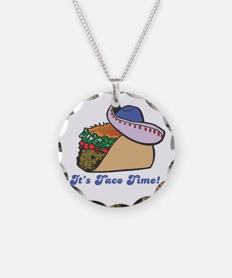 Taco Time (Taco with Sombrero Necklace