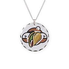 Mexican Taco Necklace
