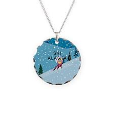 TOP Ski Alaska Necklace