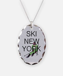 TOP Ski New York Necklace