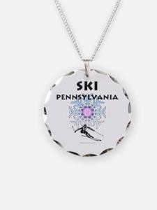Ski Pennsylvania Necklace