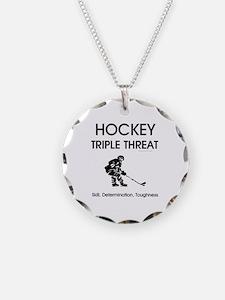TOP Ice Hockey Slogan Necklace