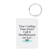 TOP Curling Slogan Keychains
