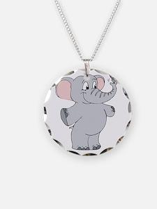 Elephant with Dreidel Necklace