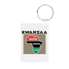 Kwanzaa Blood People Land Des Keychains