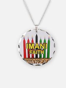 Imani (Faith) Kinara Necklace