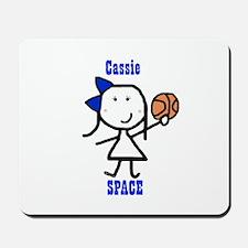 Basketball: Cassie Mousepad