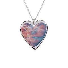 Lightning Heart Necklace