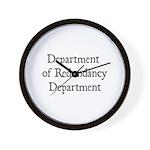 Redundancy Wall Clock