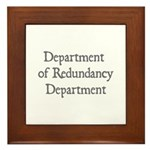Redundancy Framed Tile