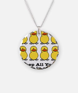 Keep Your Ducks in a Row Necklace