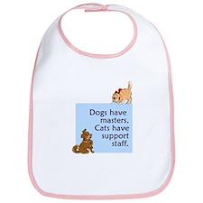 Dogs vs. Cats Bib