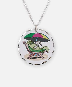 Suntanning Turle Necklace