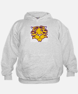 Purple and Gold Tiger Hoodie