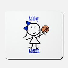 Basketball: Ashley Mousepad