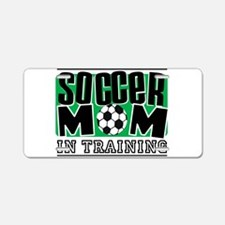 Soccer Mom In Training Aluminum License Plate