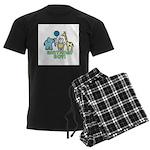 Birthday Boy Men's Dark Pajamas