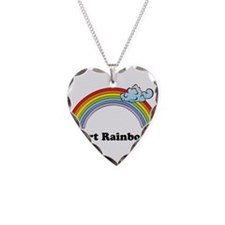 I Fart Rainbows. Necklace