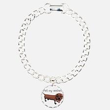 Pet My Weiner (Daschund) Bracelet