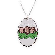 No Evil Monkeys Necklace