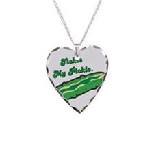 Tickle My Pickle Necklace Heart Charm