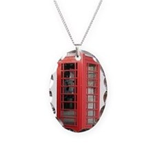 London Phonebooth Necklace