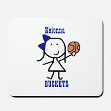 Basketball: Keionna Mousepad