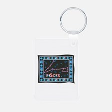 Pisces Constellation Tapestry Keychains