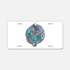 Pisces Baby Aluminum License Plate