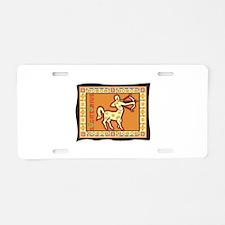 Sagittarius Tapestry Design I Aluminum License Pla