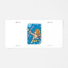 Sagittarius Design Aluminum License Plate