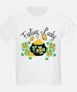 Feeling Lucky Pot of Gold T-Shirt