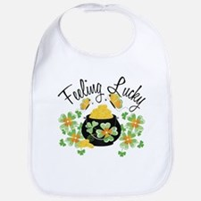 Feeling Lucky Pot of Gold Bib