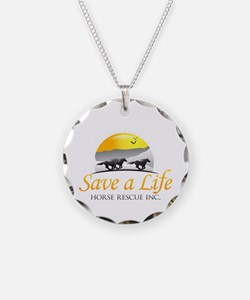 Save A Life Horse Rescue Necklace