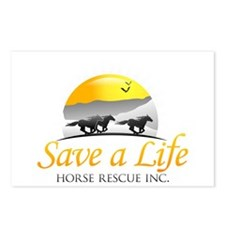 Save A Life Horse Rescue Postcards (Package of 8)